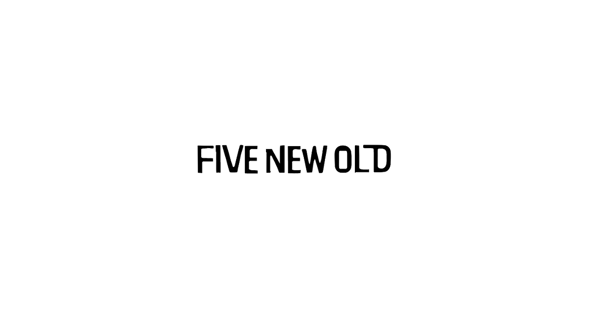 five new old official web site