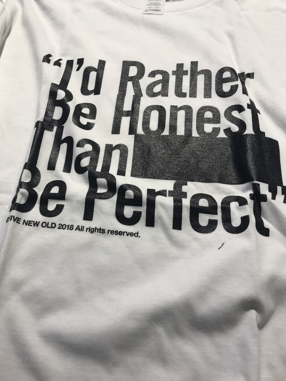 IRBHTBP T-shirts[White]
