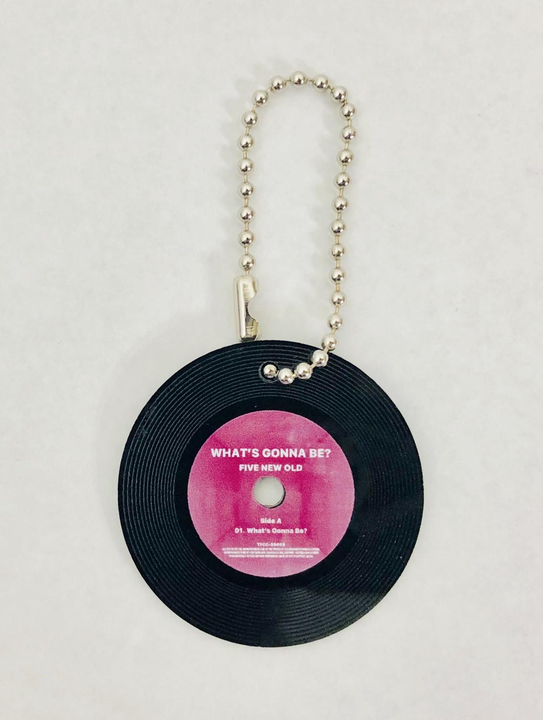 What's Gonna Be? vinyl Keyholder