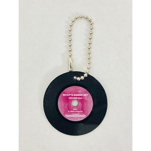 What's Gonna Be? vinyl Keyholder
