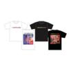 """Emulsification"" Tour T-shirts [ White / Black ]"